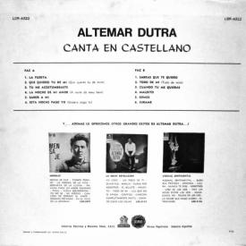 Altemar Dutra - Altemar Dutra Canta en Castellano (1964) b