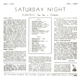 Aurino - Saturday Night (1960) b