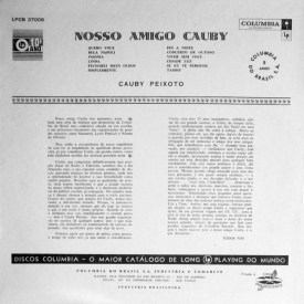 Cauby Peixoto - Nosso Amigo Cauby (1958) b