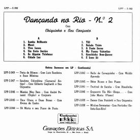 Chiquinho do Acordeon - Dançando no Rio No 2 (1959) b