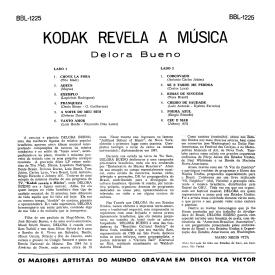 Delora Bueno - Kodak Revela a Música (1963) b