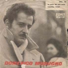 Domenico Modugno - La Notte Del Mio Amor b-w Cicoria Twist (1962) a1
