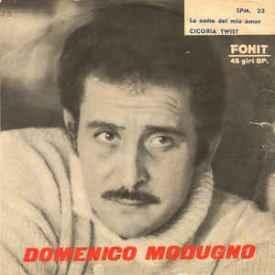 Domenico Modugno - La Notte Del Mio Amor b-w Cicoria Twist (1962) a2
