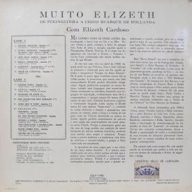 Elizeth Cardoso - Muito Elizeth (1966) b