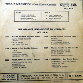 Elizeth Cardoso - Tudo é Magnífico (1960) b
