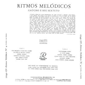 Gaúcho - Ritmos Melódicos No. 4 (1957) b