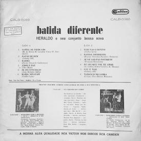 Heraldo do Monte - Batida Diferente (1963) b