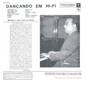 João Leal Brito 'Britinho' - Dançando em Hi-Fi – Britinho e Seus Azes do Ritmo (1960) b