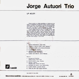 Jorge Autuori - Jorge Autuori Trio (1967) b