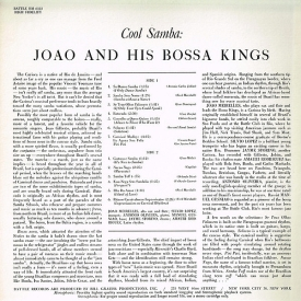 JT Meirelles aka João & His Bossa Kings - Cool Samba (1962) b
