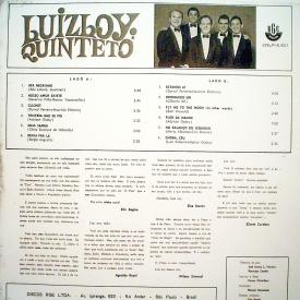 Luiz Loy - Luiz Loy Quinteto (1966) b