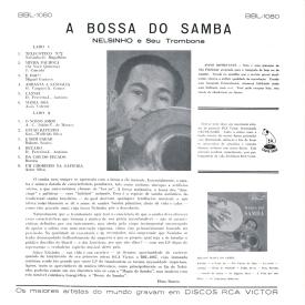 Nelsinho - A Bossa do Samba (1960) b