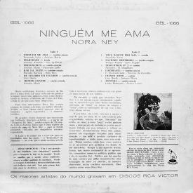 Nora Ney Ninguém me Ama (1960) b