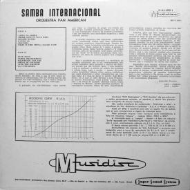 Orquestra Pan American - Samba Internacional (1959) b