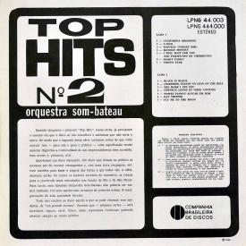 Orquestra Som-Bateau - Top Hits No. 2 (1966) b