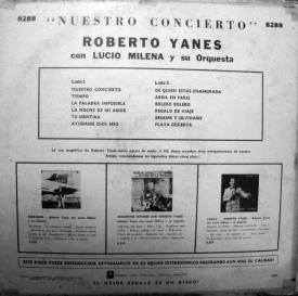 Roberto Yanés - Nuestro Concierto (1962) b
