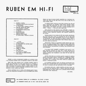 Rubens - Ruben em Hi-Fi (1960) b