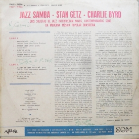 Stan Getz & Charlie Byrd - Jazz Samba (BRA 1962) b