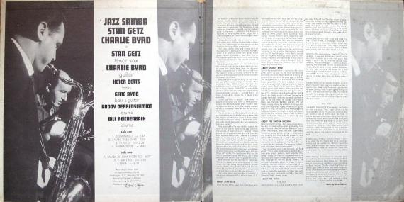 Stan Getz & Charlie Byrd - Jazz Samba (US 1962) b