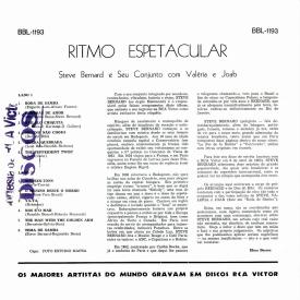Steve Bernard - Ritmo Espetacular (1962) b