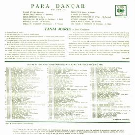 Tânia Maria - Para Dançar Vol. 2 (1963) b