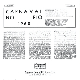 Various - Carnaval no Rio de 1960 (1960) b