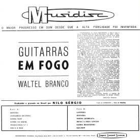 Waltel Branco - Guitarras em Fogo (1962) b