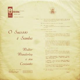 Walter Wanderley - O Sucesso é Samba (1960) b