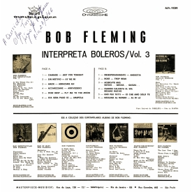 Zito Righi aka Bob Fleming - Bob Fleming Interpreta Boleros Vol. 3 (1965) b
